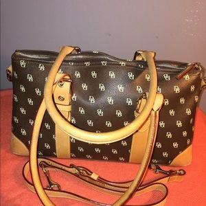Dooney Bourke Logo Handbag